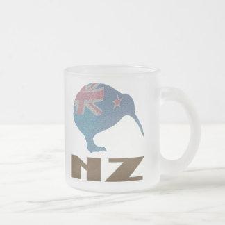 New Zealand Kiwi Frosted Mug