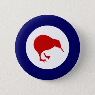 new zealand kiwi roundel military aviation badge button