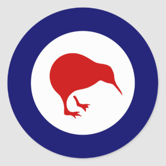 new zealand kiwi roundel military aviation sticker