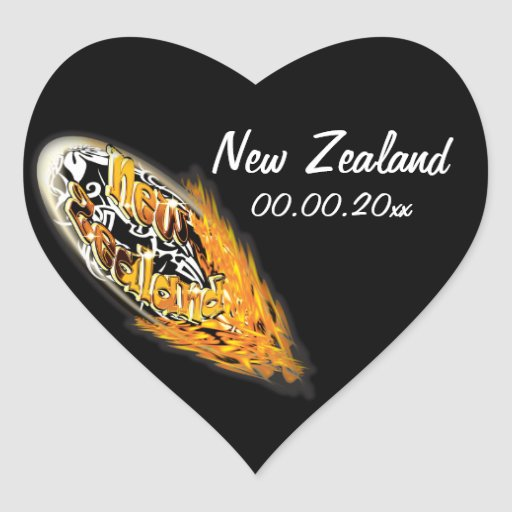 New Zealand Kiwis rugby supporters fan stickers