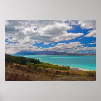 New Zealand: Lake Pukaki Poster