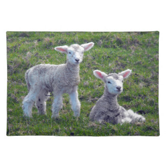 New Zealand Lambs Cloth Placemat