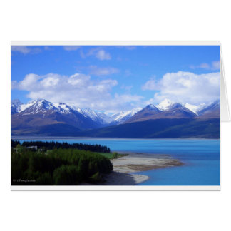 New Zealand Landscape Card