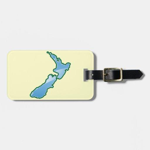 New Zealand MAP Bag Tag