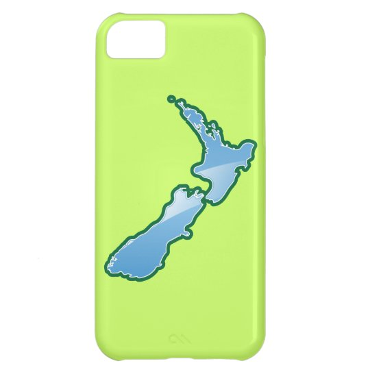 New Zealand MAP Cover For iPhone 5C