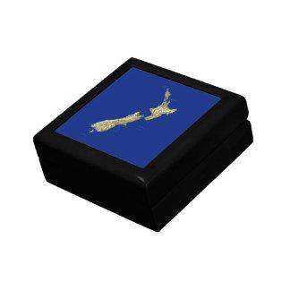 New Zealand Map Gift Box
