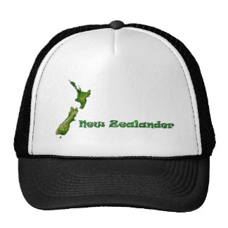 New Zealand Map Hat