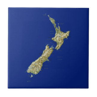 New Zealand Map Tile