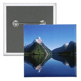 New Zealand, Mitre Peak, Milford Sound, Pin
