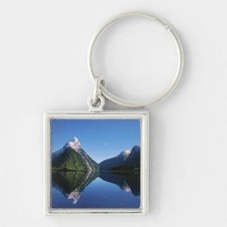 New Zealand, Mitre Peak, Milford Sound, Keychain
