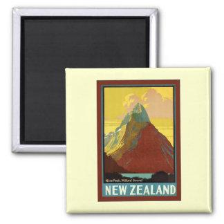 New Zealand ~ Mitre Peak ~ Milford Sound Magnet