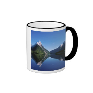 New Zealand, Mitre Peak, Milford Sound, Coffee Mugs