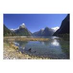 New Zealand, Mitre Peak & Milford Sound, Photographic Print