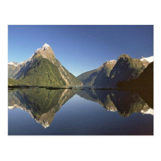 New Zealand, Mitre Peak & Milford Sound, Postcard