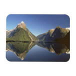 New Zealand, Mitre Peak & Milford Sound, Rectangular Magnet