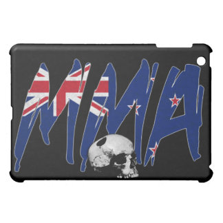 New Zealand MMA Skull Black iPad Case