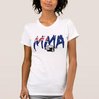 New Zealand MMA Skull Ladies T-shirt