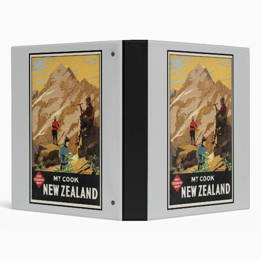 New Zealand Mount Cook Binder