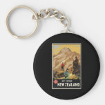New Zealand Mount Cook Key Chains