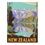 New Zealand Mountian Postcard