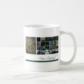 New Zealand Classic White Coffee Mug