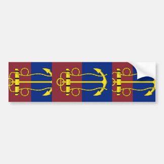 New Zealand Navy Board, Netherlands flag Car Bumper Sticker