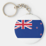 New Zealand, New Zealand flag Keychain