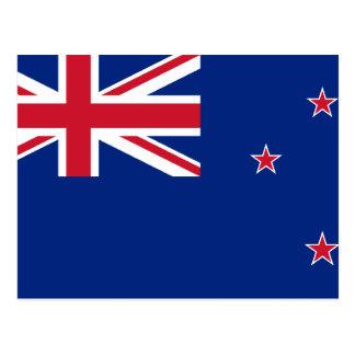 New Zealand, New Zealand flag Postcard