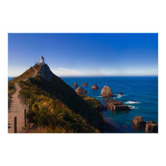 New Zealand: Nugget Point Poster