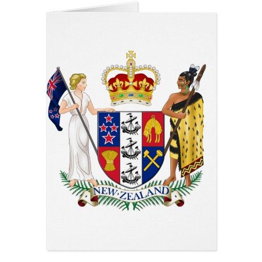 New Zealand NZ Greeting Card