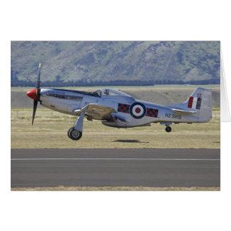 New Zealand, Otago, Wanaka, Warbirds Over 4 Card