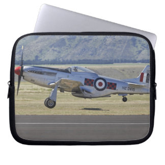 New Zealand, Otago, Wanaka, Warbirds Over 4 Laptop Sleeve