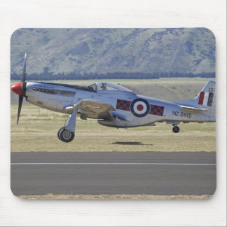 New Zealand, Otago, Wanaka, Warbirds Over 4 Mouse Pad