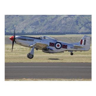 New Zealand, Otago, Wanaka, Warbirds Over 4 Postcard