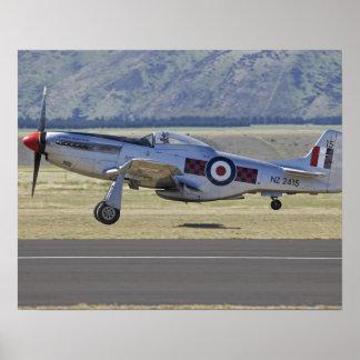New Zealand, Otago, Wanaka, Warbirds Over 4 Print