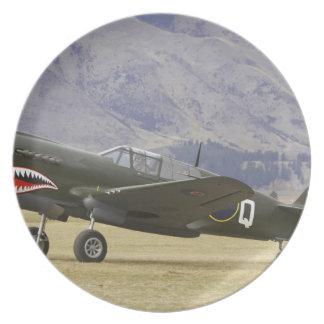 New Zealand, Otago, Wanaka, Warbirds Over 5 Plate