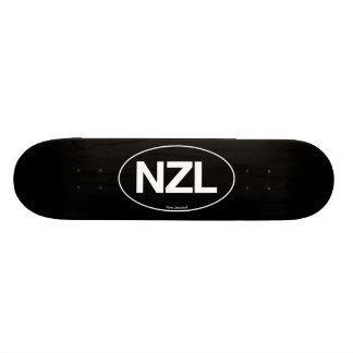 New Zealand Oval Skate Board Deck