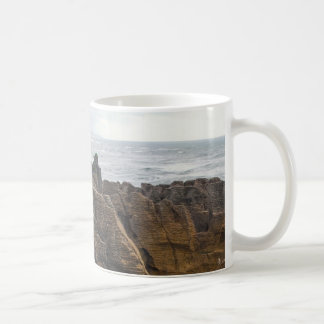 New Zealand: Pancake Rocks Classic White Coffee Mug