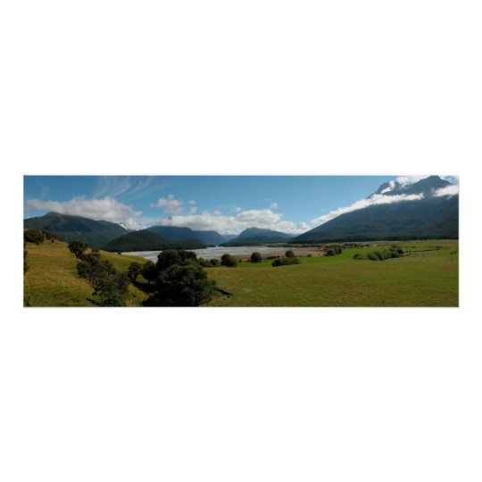 New Zealand Panoramic 2 Poster