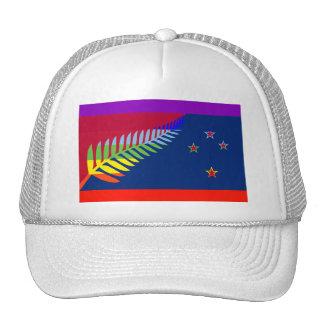 New Zealand Peace flag Trucker Hat