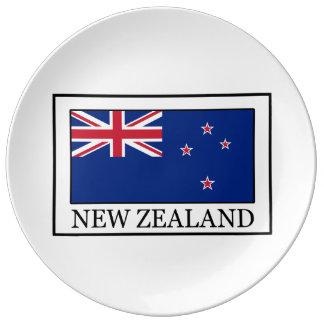New Zealand Porcelain Plate
