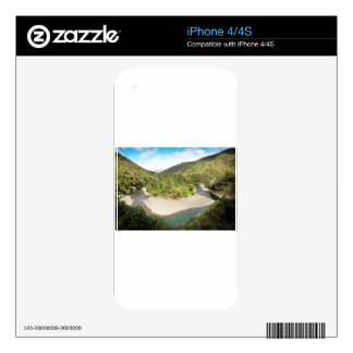 New Zealand river paradise Skin For iPhone 4