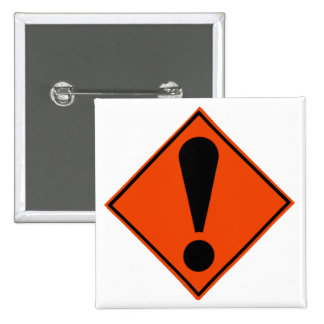 New Zealand Road Signs Pinback Buttons