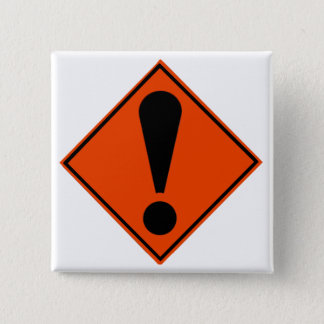 New Zealand Road Signs Pinback Button