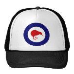new zealand roundel kiwi hats