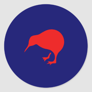 new zealand roundel kiwi low visibility classic round sticker