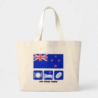 New Zealand rugby Jumbo Tote Bag