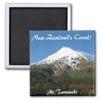 New Zealand s Coool Mt Taranaki Print Magnet