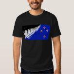 New Zealand Silver Fern Flag Tee Shirt