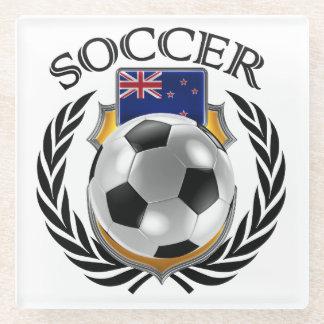 New Zealand Soccer 2016 Fan Gear Glass Coaster